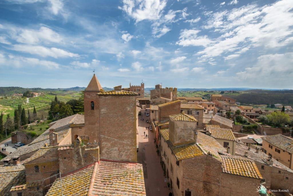 Veduta da Casa Boccaccio